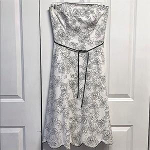 White House Black Market Dress Size 4 Floral Print